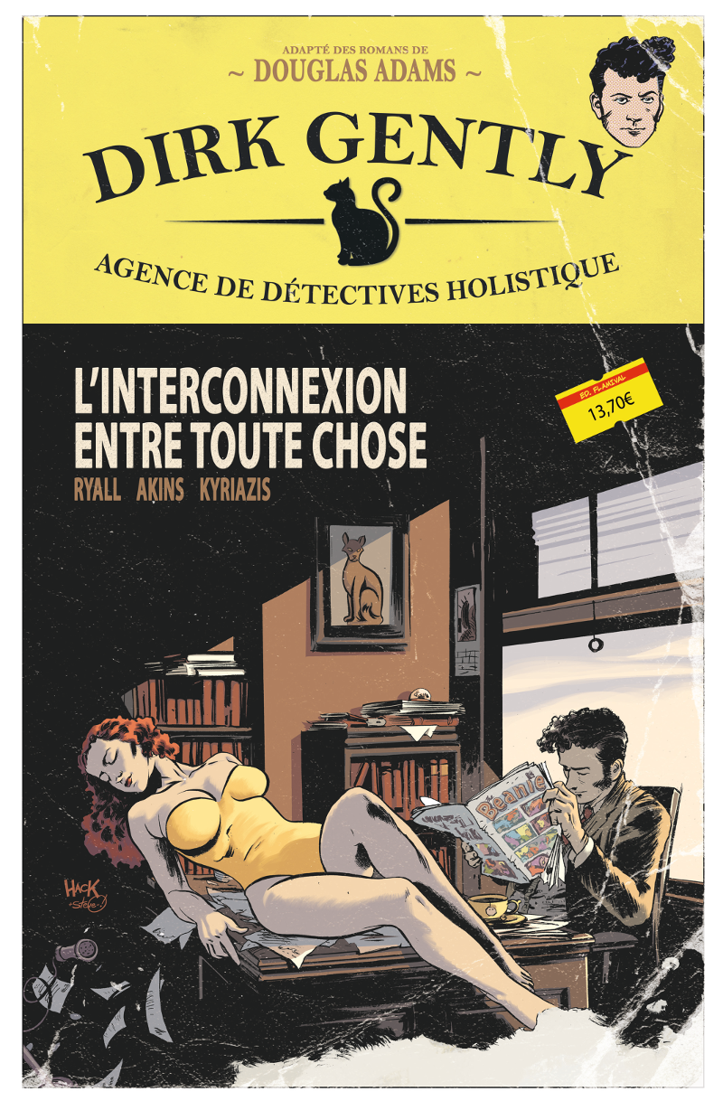 Dirk Gently, le comics